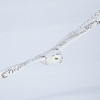 Snowy Owl Young Male Flying over Snow 2