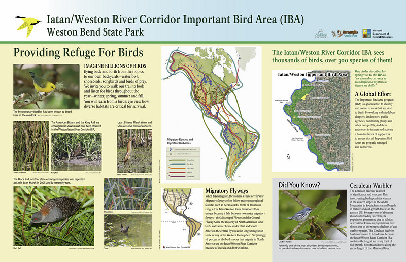 Interpretive Panel for Weston Bend State Park