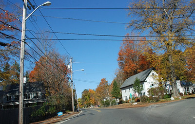 Somewhere along route 1A. The fall colors were gorgeous.