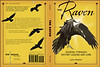 Cover for The Raven, Soaring Through History Legend and Lore by Lynn Hassler. Cropped raven picture on front and credit on back.