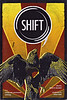 """Cover of Shift, 2009 publication, first in a series of anthologies from the Writing and Consciousness program at the California Institute of Integral Studies, San Francisco, CA.  <a href=""""http://www.ciis.edu"""">http://www.ciis.edu</a>., Cover artwork by Dreux Carpenter featuring a Moosonee raven photo by Paul Lantz."""