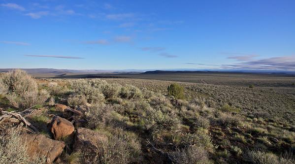 Landscape near the Sage Grouse Lek