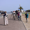 Flock of Photographers<br /> Walvis Bay, Namibia<br /> September 11, 2013