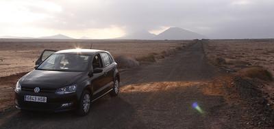 18.3.2014 Tinday Desert, Fuerteventura, Spain
