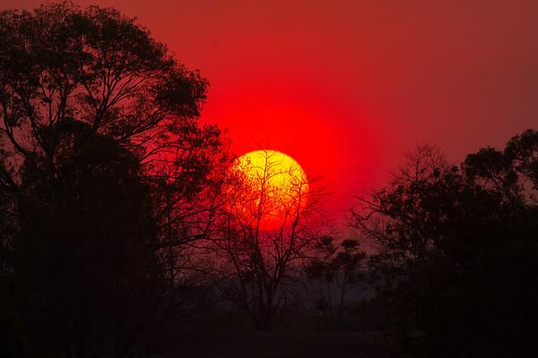 Adelaide River Sunset