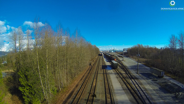 North Vancouver Train Tracks