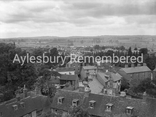 View from St Mary's Church, late 1940s