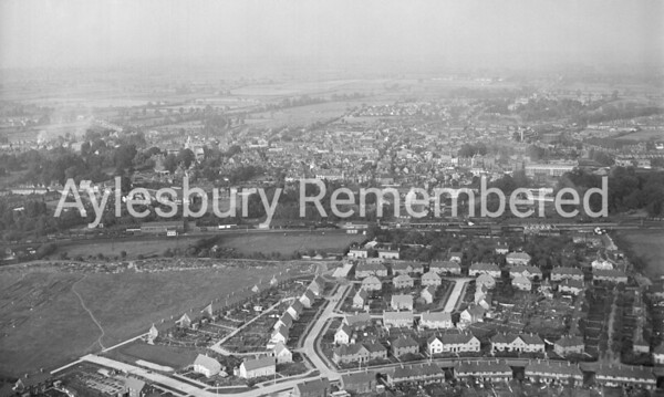 Aylesbury from southwest, Oct 6th 1949