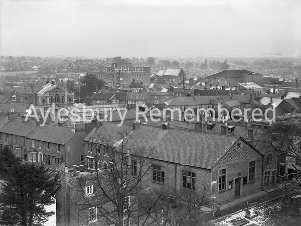 View from St Mary's Church, June 9th 1955