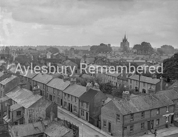 View from Telephone Exchange, June 9th 1955