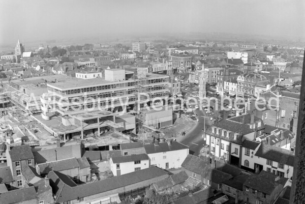 View from County Hall, May 16th 1966