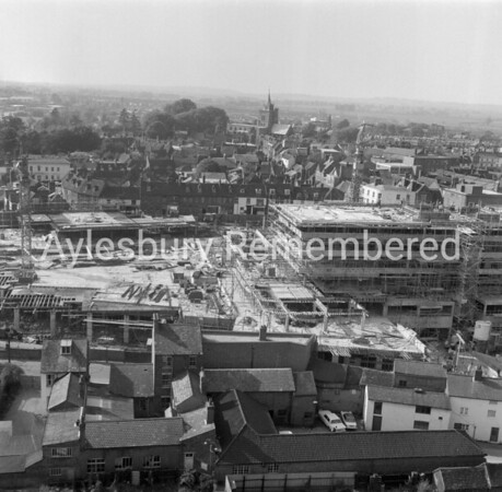 View from County Hall crane, 1965