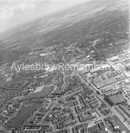 Quarrendon Estate and Bicester Road, Oct 23rd 1977