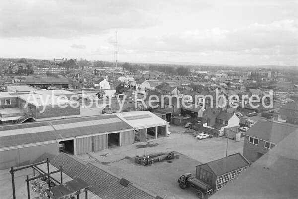 View from Telephone Exchange, Feb 1974
