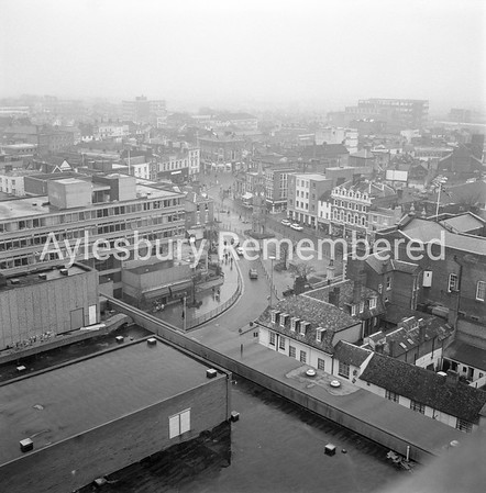 View from County Hall, Nov 1971