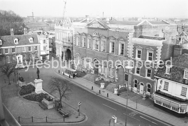 View from Municipal Offices, Apr 4th 1973