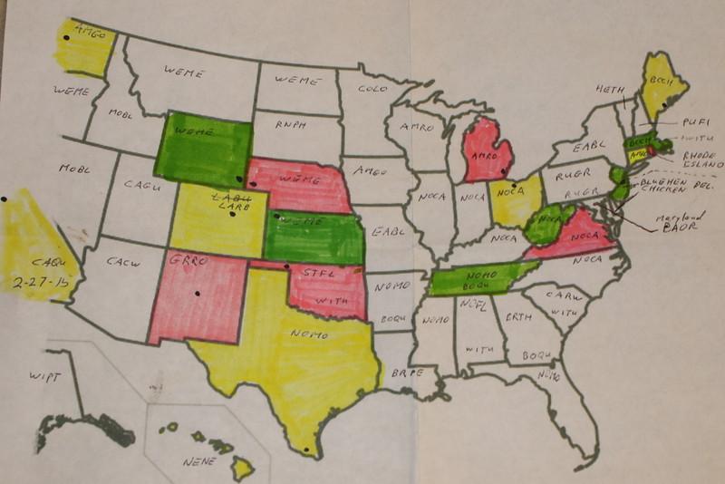 Progress Map, August 27, 2015