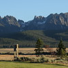 Sawtooth Mountains in Stanley, Idaho