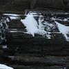 Metamorphic Rock in Snow
