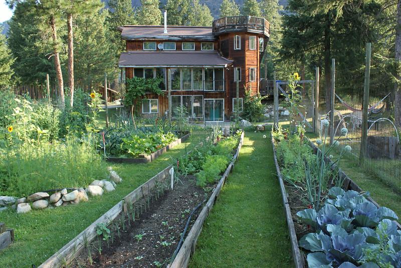 Gardens and Innkeeper's House