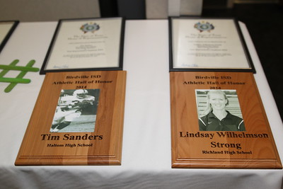 2014 Athletic Hall of Honor