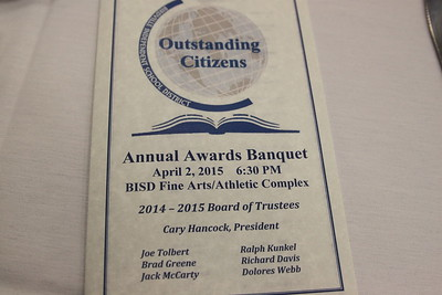 2015 Outstanding Citizens Banquet