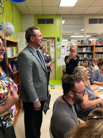Leslie Gamboa, BISD's 2018 First-Year Teacher of the Year