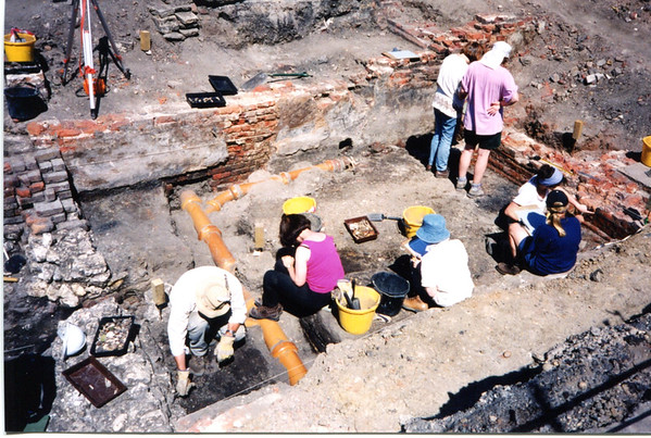 Birkbeck Training Excavation 1999