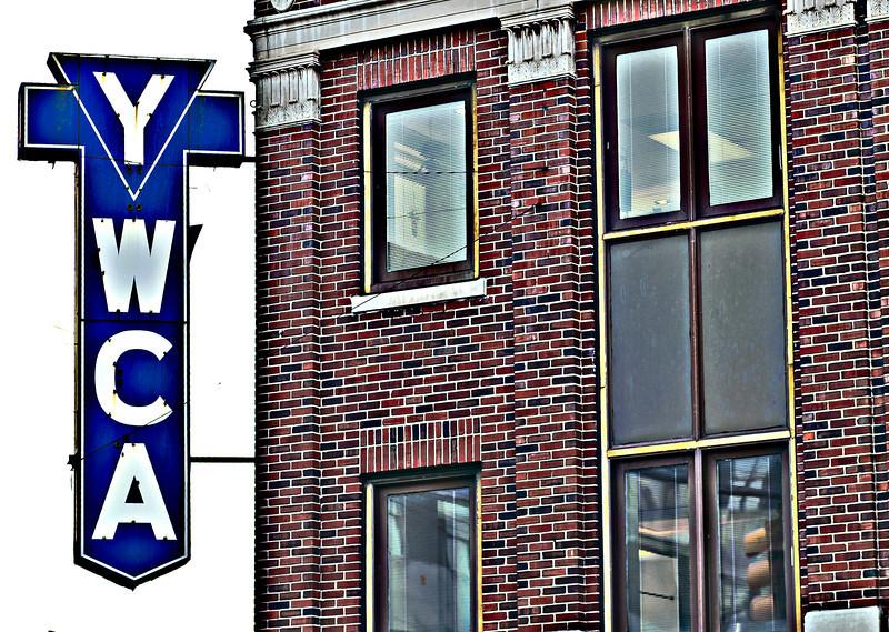 YWCA sign, Birmingham, AL