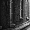 urban alley in Birmingham