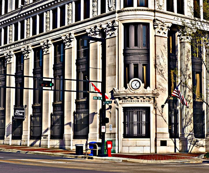 the corner of 20th Street N and 1st Avenue N, Birmingham, Alabama