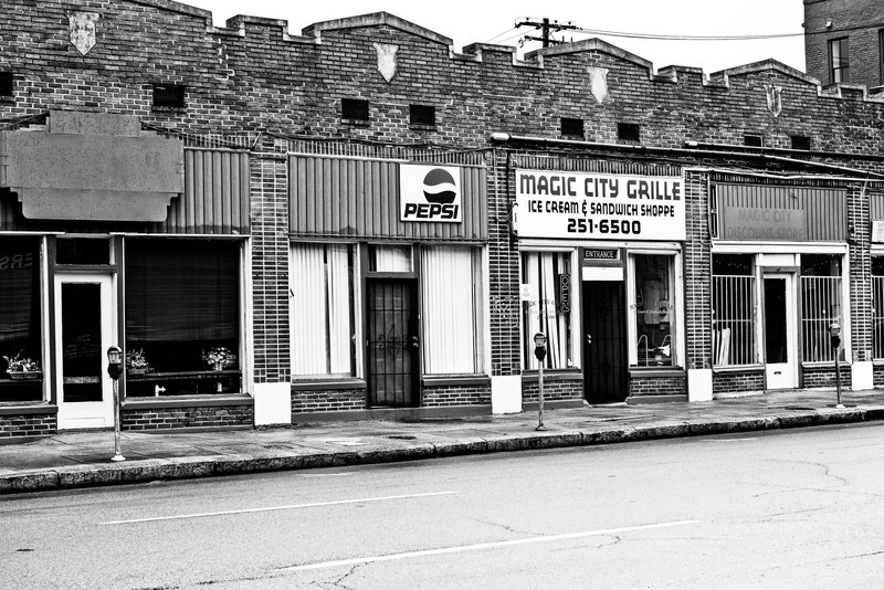 magic city grille, birmingham, alabama