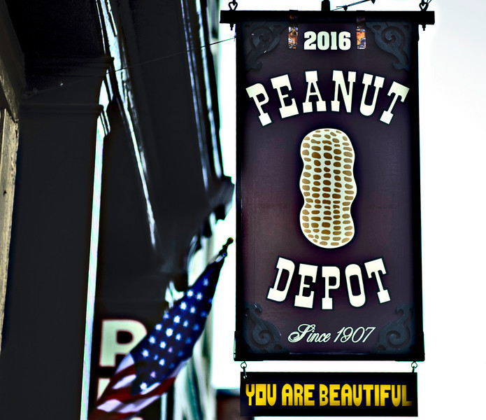 The Peanut Depot, Morris Avenue, Birmingham, Alabama