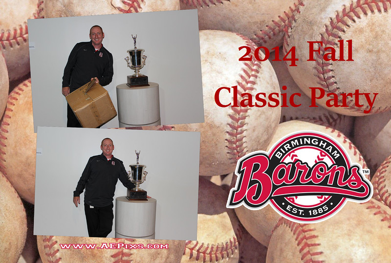 Birmingham Barons 2014 Fall Classic Party