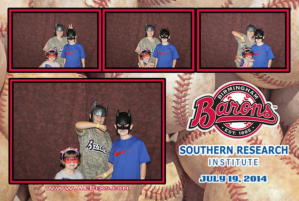 Birmingham Barons - Southern Research Institute 2014