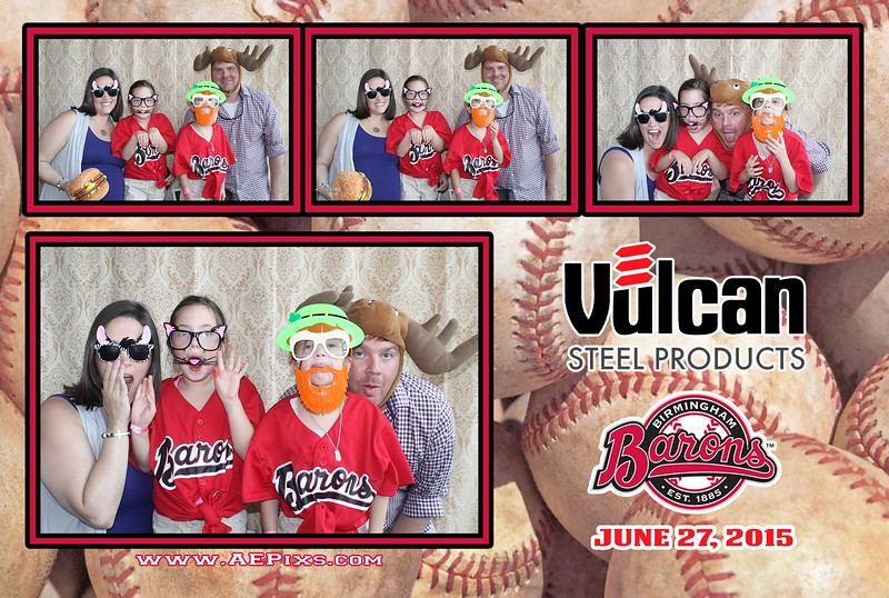 Birmingham Barons - Vulcan Steel Products 2015