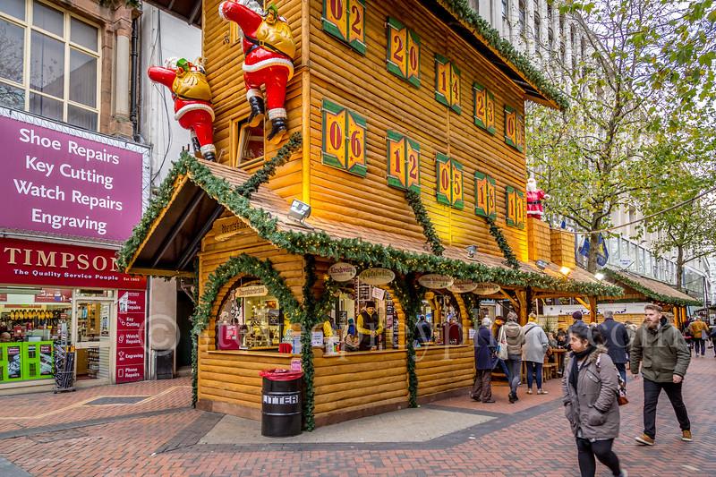 Christmas Market on New Street
