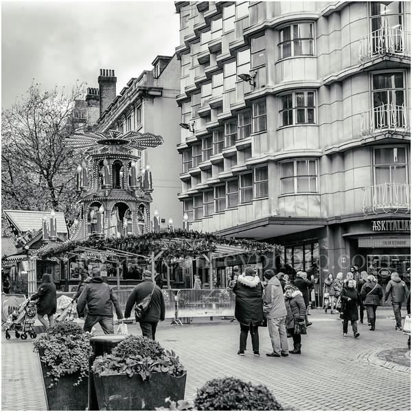 Christmas Market in New Street