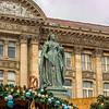 Victoria Statue & Christmas Market