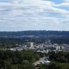 Overlooking Homewood from Vulcan's observation deck.