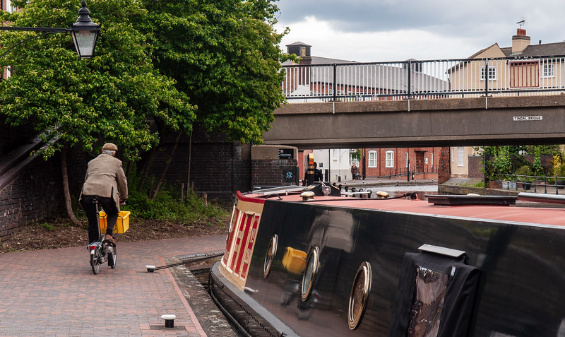 Cycling on Birmingham canals