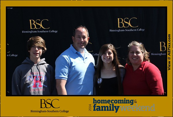 Birmingham Southern College Homecoming and Family Weekend 2014