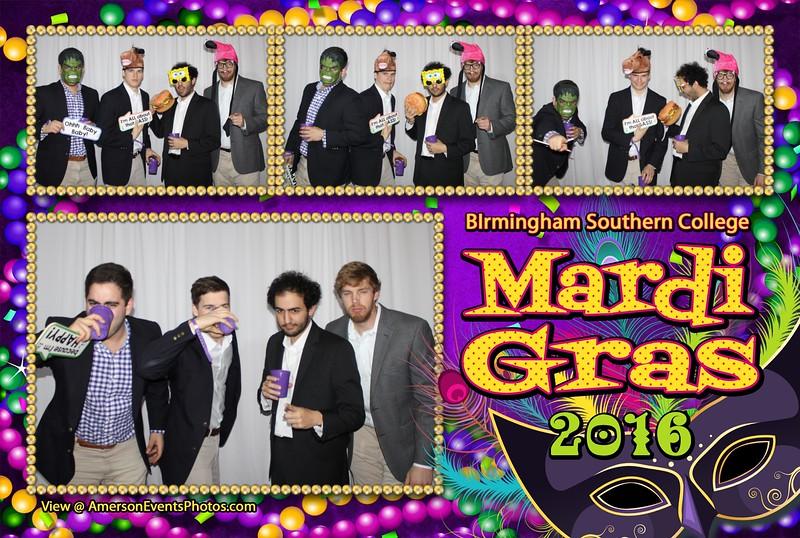 Birmingham Southern College Mardi Gras 2016