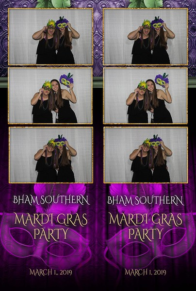 Birmingham Southern College Mardi Gras 2019