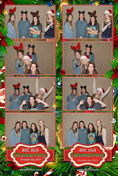 Birmingham Southern College SGA Christmas Party 2014