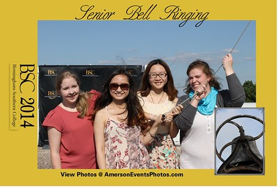 Birmingham Southern College Senior Bell Ringing 2014