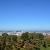 A wide shot of the city with the fall colors. I might make this one panaoramic.