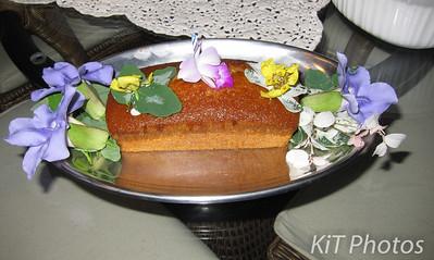 Desert #4: Orange pound cake