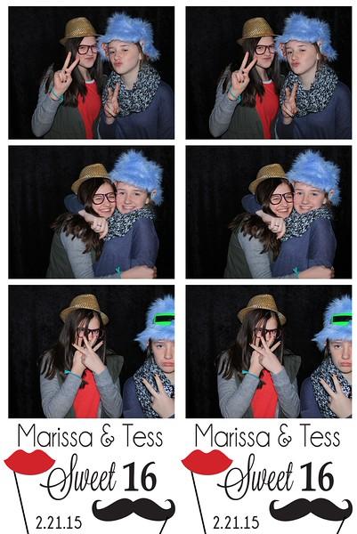 """Marissa & Tess's """"Sweet 16"""""""