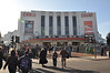Arriving at Earls Court for the Doctor Who Exhibition